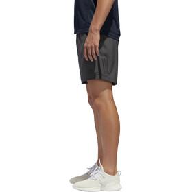 "adidas Own The Run Korte Broek 7"" Heren, grey six/black"